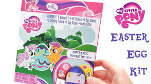 Decorate Easter Eggs Youtube my little pony easter eggs decorating kit youtube
