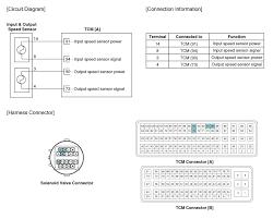 kia sportage output speed sensor schematic diagrams automatic