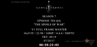 Game Of Thrones Latest Game Of Thrones Episode Leaks Online Before Tv Broadcast