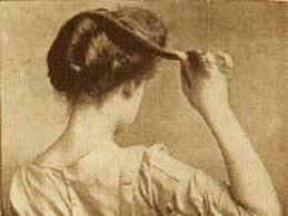 hairstyles from 1900 s easy edwardian hairstyle in 10 minutes glamourdaze