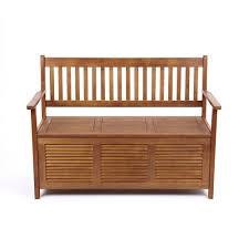 sannox balau hardwood two seat hallway storage bench