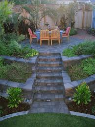 Tiered Backyard Landscaping Ideas Chic Tiered Backyard Landscaping Ideas 1000 Ideas About Tiered