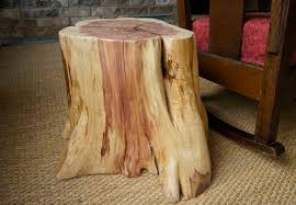 how to make a tree stump table how to create a tree stump table hunker