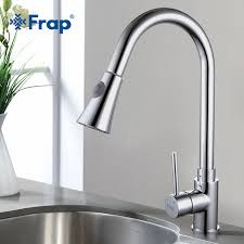 nickel kitchen faucet new frap pull out brushed nickel kitchen faucet sink mixer tap