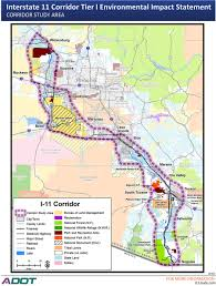Interstate Map Public Meetings To Take Input On Proposed Interstate 11