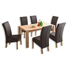 roller stühle esszimmer tisch ferdi kernbuche massiv 160x90 cm esstische sitzen