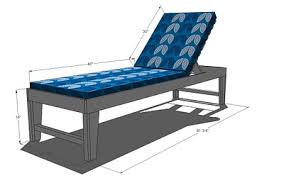 Wood Lounge Chair Plans Free by Ana White Outdoor Chaise Lounge Diy Projects