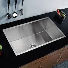 Kitchen Sink Combo - water creation premium scratch resistant satin 33 inch zero