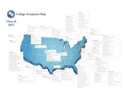 Boston College Map Community Of Naples 2017 College Acceptances