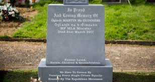 headstone pictures martin mcguinness s headstone proves continued ira link