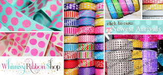 ribbon shop whimsy ribbon shop us designer grosgrain printed ribbon