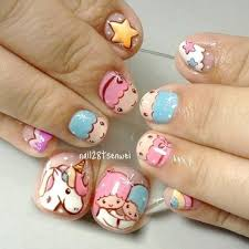 little twins star nail art by weiwei beauty is what we make up