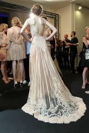 old hollywood wedding gown once wed