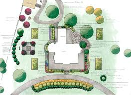 Landscape Floor Plan by Everett Garden Designs Master Landscape Plans
