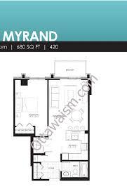 floor plans waterstreet condos 316 bruyere st ottawa 1 bedroom myrand floor plan waterstreet ottawa condos