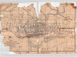Map Of Toronto Canada by Don River Valley Historical Mapping Project
