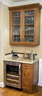 seeded glass kitchen cabinet doors as part of a kitchen remodel these clients included a