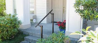 outdoor stair railing kit buy step handrail online simplified