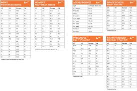 nike si e nike size guide bb branded boutique