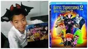 hotel transylvania 2 bluray review recipes u0026 characters tour