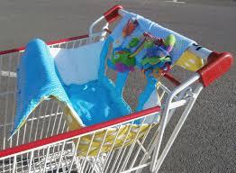 siège bébé caddie protection de caddie la cabane à couture
