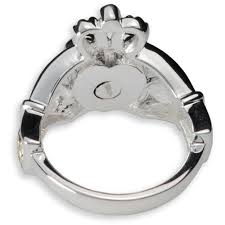 cremation jewelry rings celtic claddagh cremation ring in sterling silver urns online