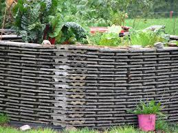 old ceramic roof tiles raised garden beds pinterest ceramic