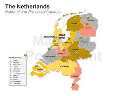 kerkrade netherlands map powerpoint netherlands map editable ppt slides