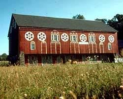 why are barns usually painted red howstuffworks