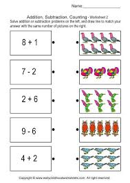 addition subtraction counting brain teaser worksheets 3