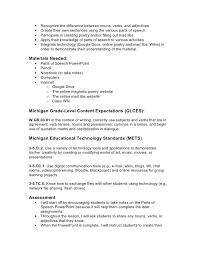 parts of speech lesson plan info