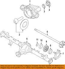 nissan titan imports australia nissan oem 08 15 titan rear axle shaft bearings 40210eb000