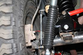 jeep sway bar rear sway bar end links jeep jk wrangler with 0 6 lift