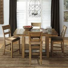 Counter Height Extendable Dining Table Loon Peak Cowley Counter Height Extendable Dining Table U0026 Reviews