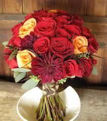 Wedding Flowers For September Red Rose Bouquets For September Wedding Floral Artistry By