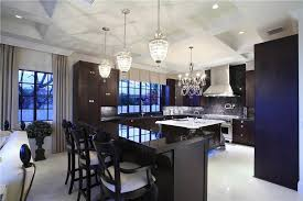Lights For Kitchen Ceiling Modern by Modern Kitchen With Simple Marble Counters U0026 Box Ceiling In Fort