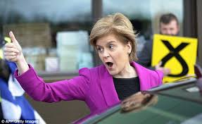 election 2015 live tebbit camerons snp scare tactics snp s nicola sturgeon guides party to record 54 in the polls