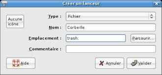 comment remettre l icone corbeille sur le bureau ubuntu avoir la corbeille sur le bureau