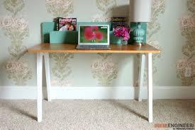 Simple Modern Desk Remodelaholic The Lindsay Desk A Simple Modern Desk With A