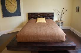 wooden platform bed frame bed frames platform storage barnwood beds wood ideas frame full