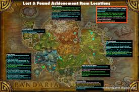 Real Treasure Maps Wow Rare Spawns Lost And Found Achievement Where To Find Lost