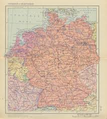 Map Of East And West Germany by Map Showing Unified Germany And The Ussr Existing At The Same Time