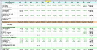 excel cash flow template spreadsheet templates for business cash