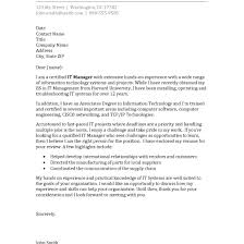 resume exles information technology manager requirements cover letter sle for internship information technology