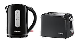 Asda Kettle And Toaster Sets Bosch Village Kettle U0026 Toaster Range Black Kettles U0026 Toasters