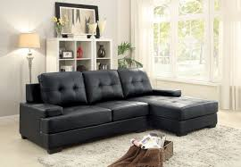 antique sectional sofa homelegance grenoble sectional sofa set bi cast vinyl black