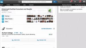 Find Resumes On Linkedin Rearranging The Order On Your Linkedin Profile Youtube