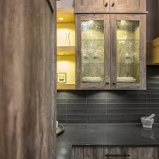 rustic kitchen cabinets with glass doors cuisines beauregard kitchen project b5 rustic kitchen