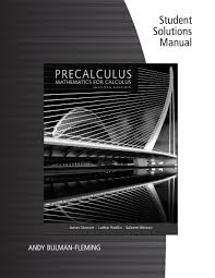 student solutions manual for stewart redlin watson u0027s precalculus