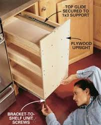 How To Build Kitchen Cabinets How To Build Kitchen Cabinets This Plan Is For An 18